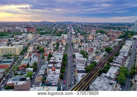 Subway Tracks Along Southern Brooklyn, Serving Coney Island, Brighton Beach, Ocean Parkway And Sheep