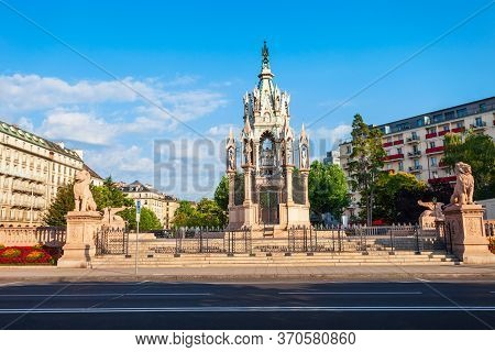 Brunswick Monument Is A Mausoleum Of Charles Ii Duke Of Brunswick In Geneva City, Switzerland