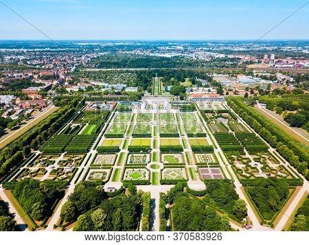 Herrenhausen Gardens Of Herrenhausen Palace Located In Hannover, Germany