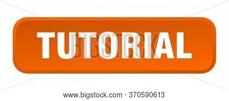 Tutorial Button. Tutorial Square 3d Push Button