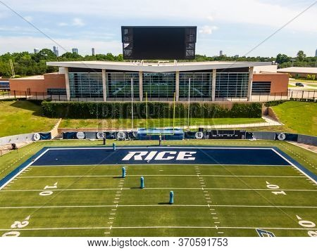 May 29, 2020 - Houston, Texas, USA: May 29, 2020 - Houston, Texas, USA: Rice Stadium is an American football stadium located on the Rice University campus in Houston, Texas.