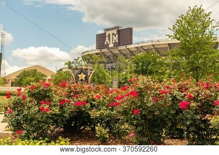 May 27, 2020 - College Station, Texas, USA: May 27, 2020 - College Station, Texas, USA: Texas A&M University is a public research university in College Station, Texas.