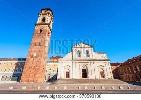 Turin Cathedral Or Duomo Di Torino Or Cattedrale Di San Giovanni Battista Is A Roman Catholic Cathed