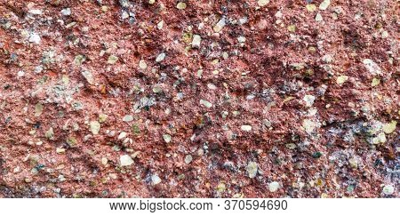 Stone Texture Red. Fone. Beautiful Background. Concept.
