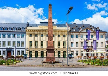Koblenz, Germany - June 27, 2018: Theater Koblenz Is A Main Theatre Located In Koblenz Old Town In G