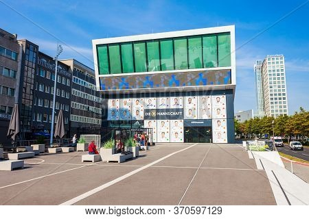 Dortmund, Germany - July 04, 2018: German Football Museum Or Dfb-museum Is The National Museum For G
