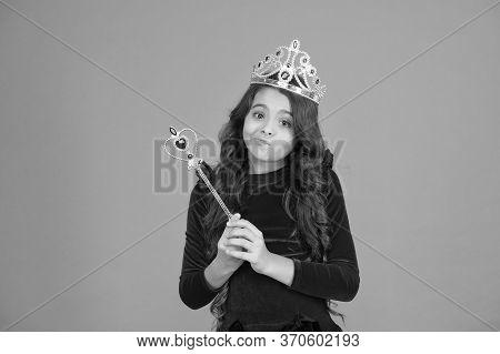 Magic Trick. Pronounce Spell. Fantasy And Creativity. Develop Imagination. Magic Stick Concept. Cute