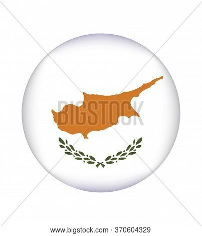 National Cyprus Flag, Official Colors And Proportion Correctly. National Cyprus Flag. Vector Illustr