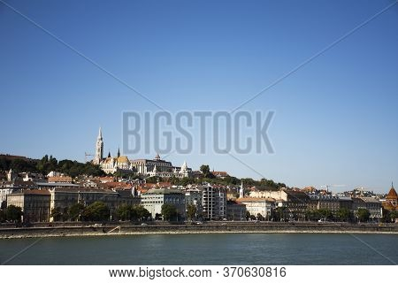 View Landscape And Cityscape Of Budapest Old Town And Budapest Castle Hill Or Buda Castle Royal Pala