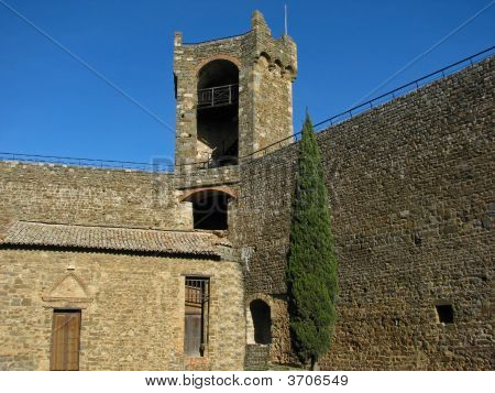 Tuscan Medieval Fortress