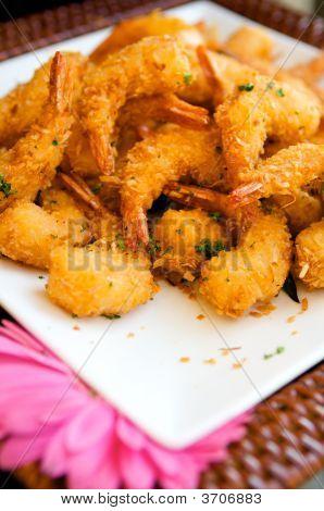 Delicious Fresh Fried Shrimp