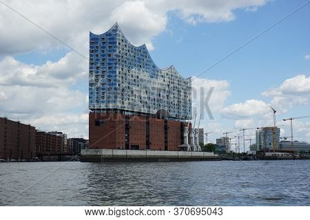 Hamburg, Germany - 05/30/2020: Picture Of The