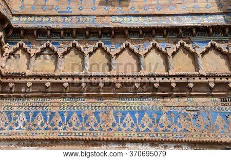 Gwalior, Madhya Pradesh/india : March 15, 2020 - Interior Of Man Singh Palace, Gwalior Fort 'mughal