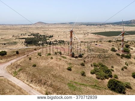The Golan Heights Wind Farm Is An Israeli Wind Farm With Wind Turbines Which Generate Clean Energy I