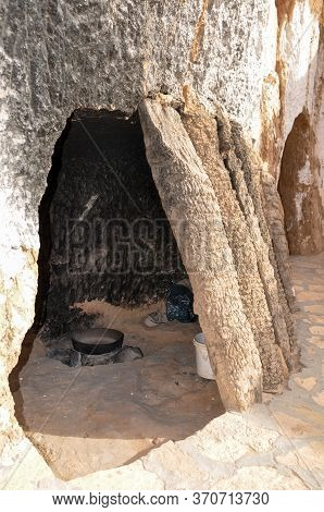 Matmata, Tunisia - February 03, 2009: The Berber Underground Dwellings, Matmata, Tunisia