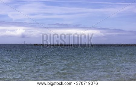 Gulf Of Morbihan - Bay Of Biscay - View From Carnac, Brittany, France
