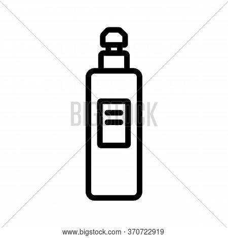 Makeup Remove Skin Care Liquid Icon Vector. Makeup Remove Skin Care Liquid Sign. Isolated Contour Sy