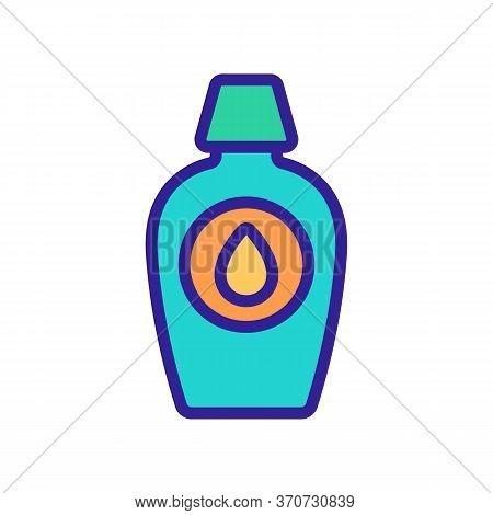 Makeup Remover Liquid Drop Icon Vector. Makeup Remover Liquid Drop Sign. Isolated Color Symbol Illus