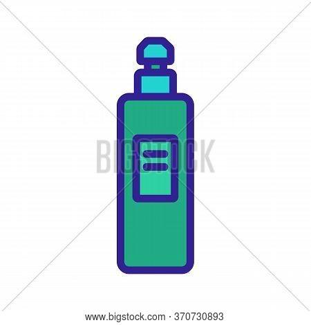 Makeup Remove Skin Care Liquid Icon Vector. Makeup Remove Skin Care Liquid Sign. Isolated Color Symb