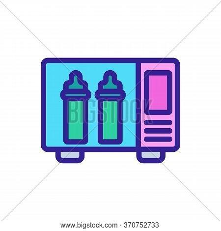 Sterilizer Accessory Icon Vector. Sterilizer Accessory Sign. Isolated Color Symbol Illustration