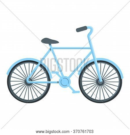 Classic Bicycle Icon. Cartoon Of Classic Bicycle Vector Icon For Web Design Isolated On White Backgr