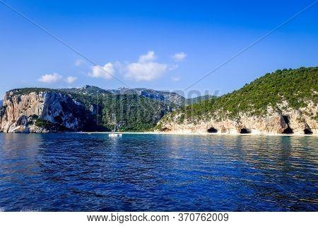 Cala Luna Beach In The Golf Of Orosei, Sardinia, Italy