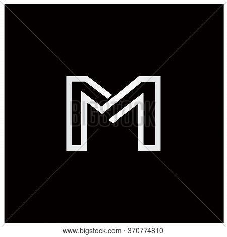Geometric Classy And Luxury Letter M Logo