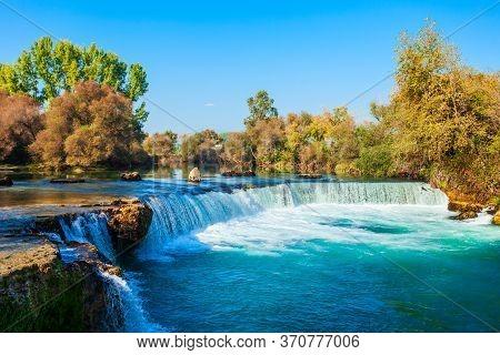 Manavgat Selalesi Waterfall In Manavgat City In Antalya Region In Turkey