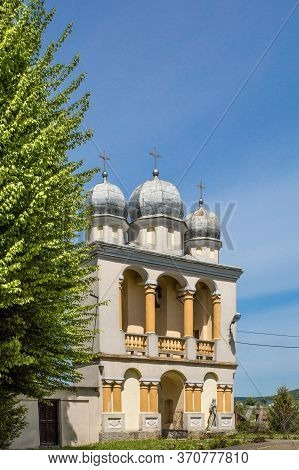 Jurowce, Poland - May 23, 2020: The Former Greek Catholic Church Of St. George, Currently The Roman