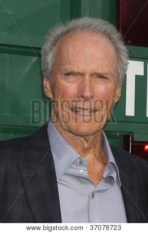 LOS ANGELES - SEP 19:  Clint Eastwood arrives at the
