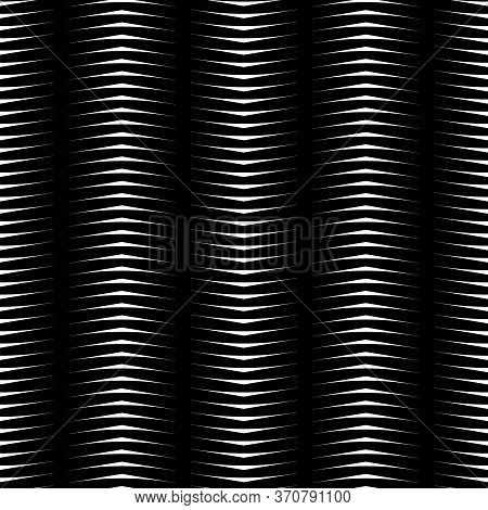 Zigzag Strokes. Jagged Stripes. Triangle Waveform Motif. Seamless Surface Pattern Design With Triang