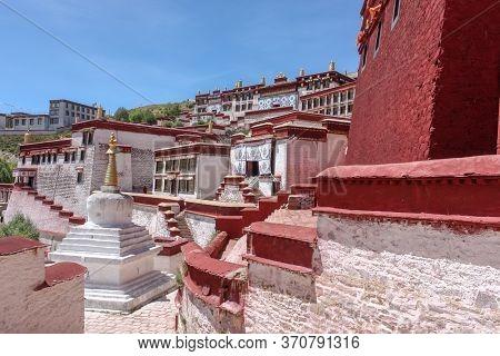 Drepung Monastery Just 8 Km Away From Lhasa, Tibet, Asia