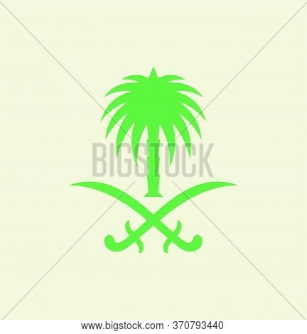 Saudi Arabian Palm Tree Logo, Saudi Arabian Cultural Identity