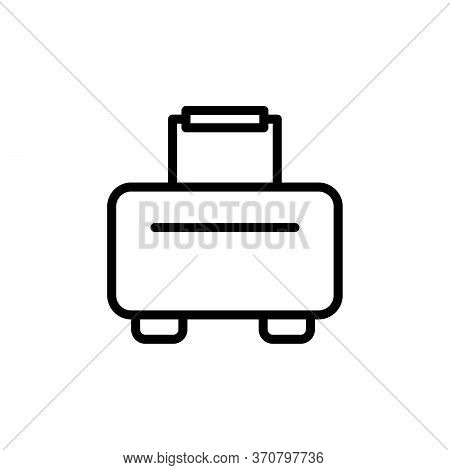 Luggage Concept Line Icon. Simple Element Illustration. Luggage Concept Outline Symbol Design From B