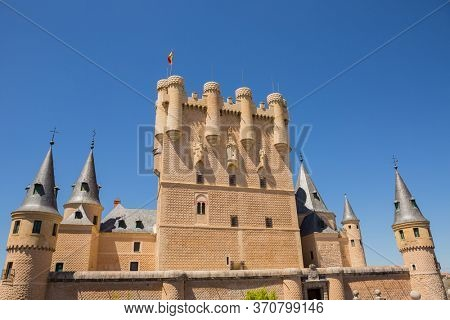 the Alcazar de Segovia Castle, Spain