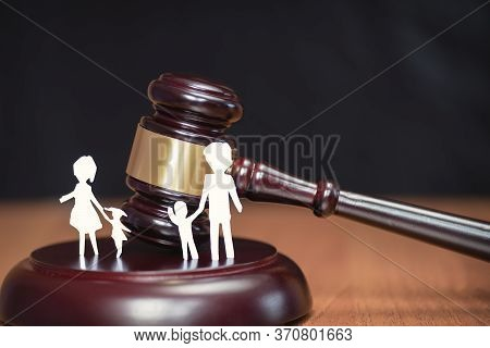 Childrens Legal Zone. Court And The Rights Of The Family And Children. Legal Area Children. Section