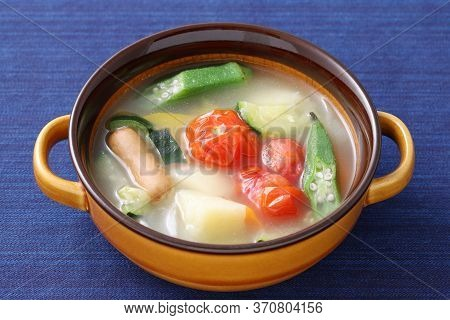Soup Of Sausage And Vegetables, Pot-au-feu (japanese-style)