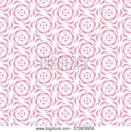 Seamless White Graphic Optical Plexus Pattern. Repetitive Line Vector Circle Array Texture. Continuo