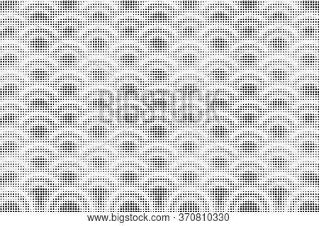 Art Black And White Of Halftone Background