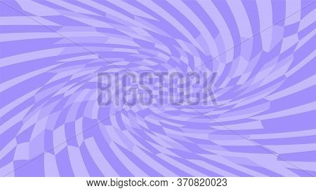 Purple Twirl Wave Pattern Abstract For Background, Optical Wave Twirl Purple Color, Hypnotic Concept