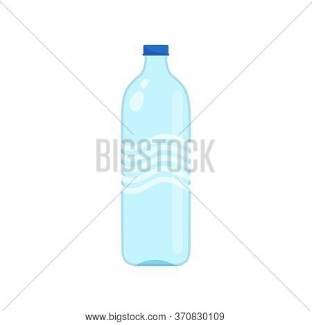 Drinking Water Bottle Plastic Isolated On White, Illustrator Bottle Plastic Transparent, Clip Art Of