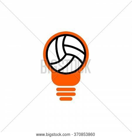 Volley Idea Vector Design Template Illustration.design Elements