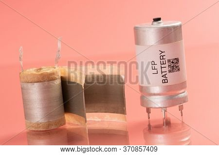Lithium iron phosphate battery  LiFePO  or LFP battery  lithium ferrophosphate , is a  lithium-ion battery using LiFePO  as the cathode, and graphitic carbon electrode  as the anode.