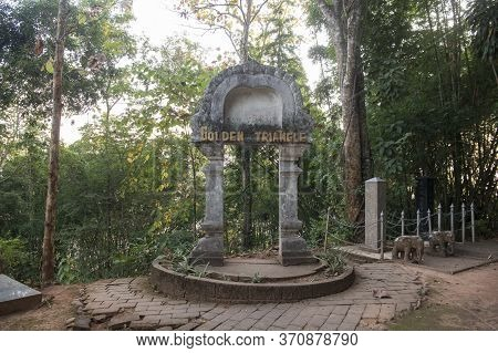 Thailand Sop Ruak Wat Phra That Phu Khao