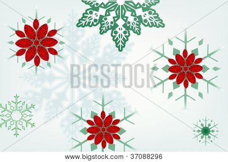 Jeweled snowflake