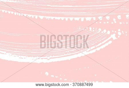 Grunge Texture. Distress Pink Rough Trace. Flawless Background. Noise Dirty Grunge Texture. Beauteou