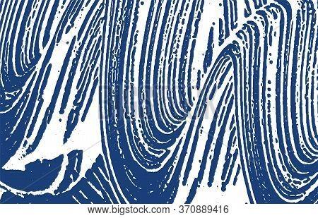 Grunge Texture. Distress Indigo Rough Trace. Ecstatic Background. Noise Dirty Grunge Texture. Quaint