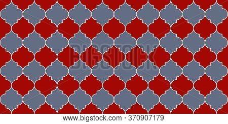 Eid Mubarak Islam Illustration. Moroccan Seamless Pattern Moroccan Seamless Mosaic Design. Turkish M
