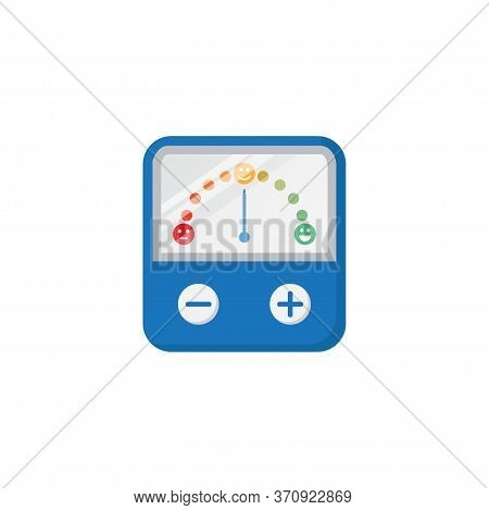 Mood Controller Device Vector Illustration Isolated On White Background. Mood Booster, Changer, Modi