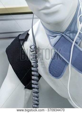 Diagnostic Medical Devices On Mannequin, A Medical Concept Of Individual Treatment By Functional Dia